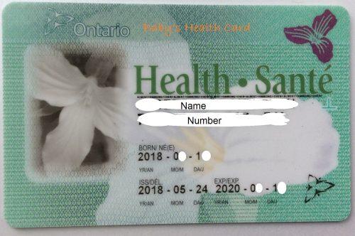 安省15岁半儿童OHIP健康卡的更新流程
